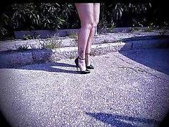 sukat jalka fetissi nylon