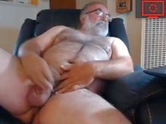 hairy dad jerk off
