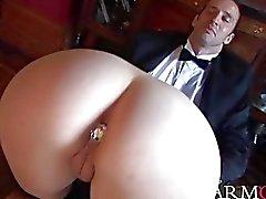 Intense anal pounding