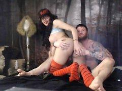 Shemale Big Tits Hoe Fucks Fetish Guy