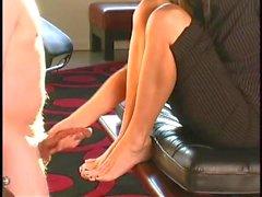 entortillement pieds fétiche à pied - fétichiste