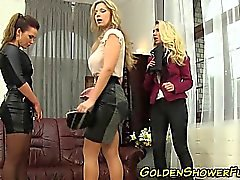 Lezzie sluts goldenshower