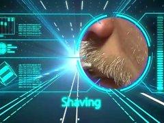 эриком - фишер волосатый толстый бритье