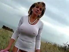 Lady.S Outdoor naked in Public