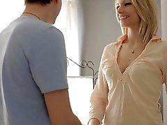 bebê loira erótico massagem
