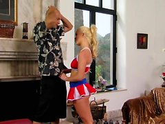 amatör blondin hardcore