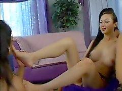 lesbian slave lick feet
