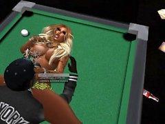 Lailai qui se tape la belle Citronelle sur Second Life