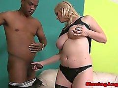 gros seins blond hardcore interracial milf