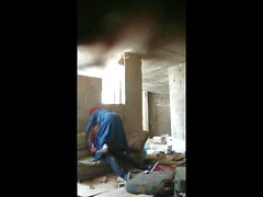 hijab beautifull fuck and suck in Abandoned house