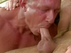 He shows off his deepthroat blowjob skills