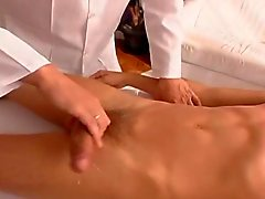 Massage ends in fucking
