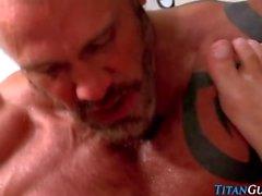 titanmen homossexual maduro gozada músculo