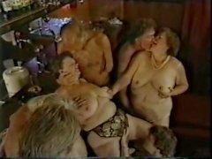 antigo grupo tit euro maduro do vintage orgia boquete boquete pau chupando buceta lambendo handjob montando grande big ass