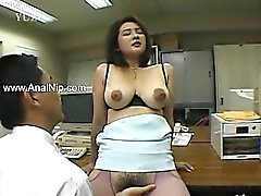 Perfect hairy anal sex from mongolian