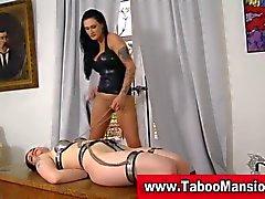 Bdsm bondage lezdom bitch needs some lesbo action