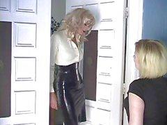 blondit lateksi jalka fetissi