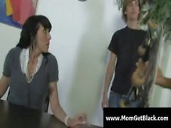 Milf going black - Busty moms fucked by huge black cock 02