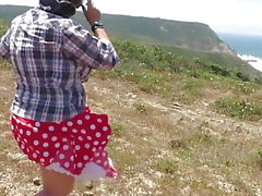 Windy upskirts Teil 25