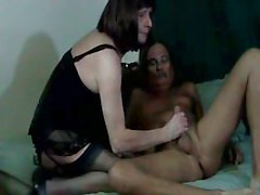Granny Tranny Loves To Suck Fuck 3