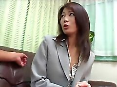 Pretty Asian Businesswoman fucked