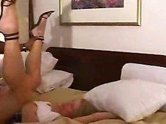 Threesome big cock penetration