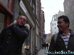 Dutch prostitute plowed