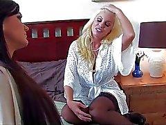 lesbisch masturbatie orale seks blond
