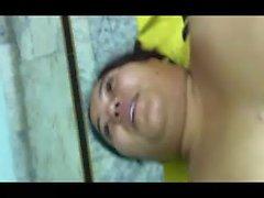 big boob bhabhi laying naked exposing her juicy melons