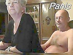 Older Couple Front On Webcam
