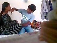 Lovers caught in hidden cam