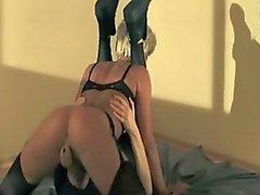 brünett fetisch verdammt lesbisch nylon