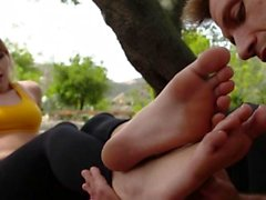 sarışın fetiş ayak fetişi hardcore