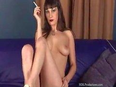 masturbarse fumador - masturbación de fumar