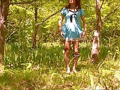 A Forest Gurl Pai-chan's Secret Pussy Play