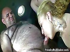 Blonde girl loves sucking dick part4