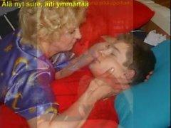 mognar gammal ung ryska finska mamma