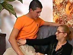 anaal rijpt kousen grannies