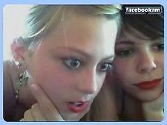 Beautiful girlfriends on webcam