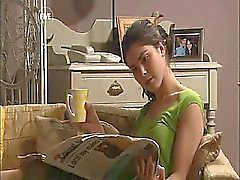 brunetta celebrit all'aperto