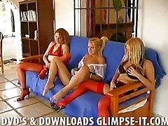 lesbisch masturbatie orale seks anale seks blond