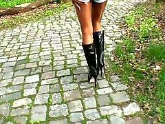 alemão nudez em público meias